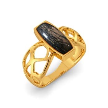 Croc Talk Gemstone Rings