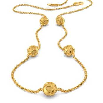 Panthera Pardus  Gold Necklaces