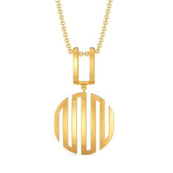 Dress Obsess Gold Pendants