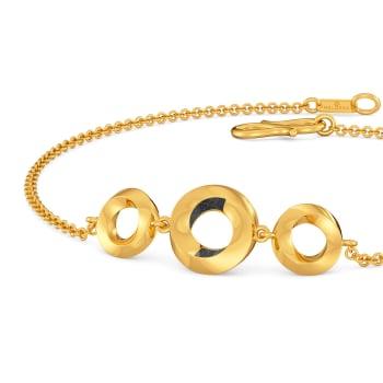 Back to Black Gold Bracelets