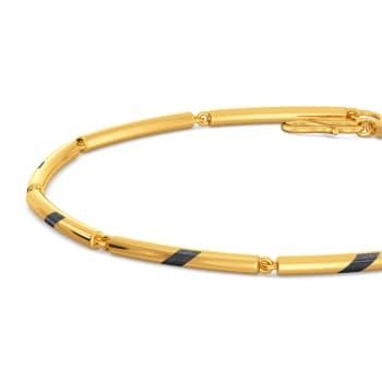 Black Beauty Gold Bracelets