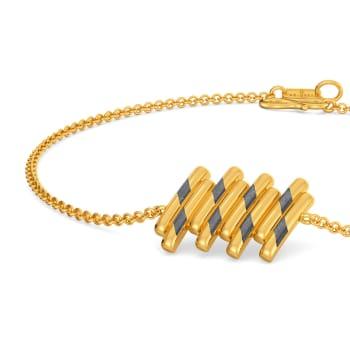 Timeless Black Gold Bracelets