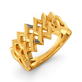 My Kinda Black Gold Rings