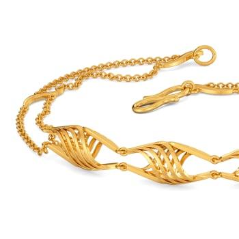 Subtle Sundress Gold Bracelets