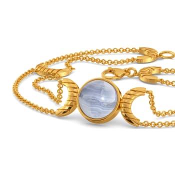 Bold N Bleached Gemstone Bracelets