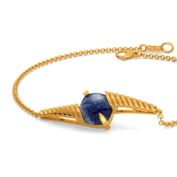 Spot in Denim Gemstone Bracelets