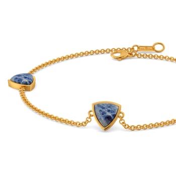 Hippie Denim Gemstone Bracelets