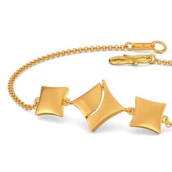Carre Crush Gold Bracelets