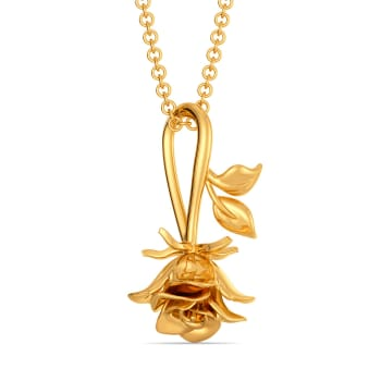 Forbidden Love Gold Pendants