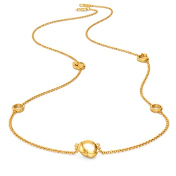 Round Abouts Gold Necklaces