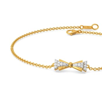 Cross Bows Diamond Bracelets