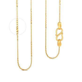 22kt Venetian Twist Half Chain Gold Chains
