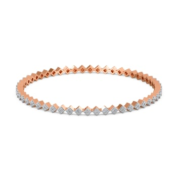 Race to Rhomb Diamond Bangles