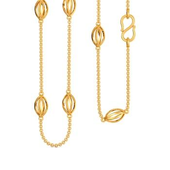Leaf Liaisons Gold Chains