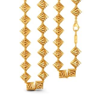 Quad Score Gold Chains