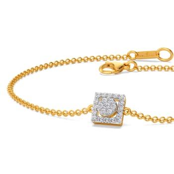 Suave E Square Diamond Bracelets