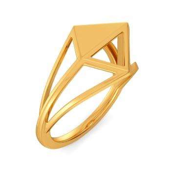 Bold N Spunky Gold Rings