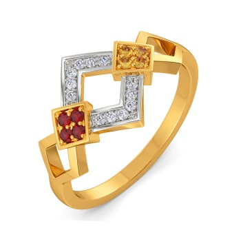 Colour Statement Gemstone Rings