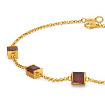Blush Flushed Gemstone Bracelets