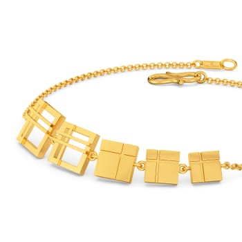 All Checked Out Gold Bracelets