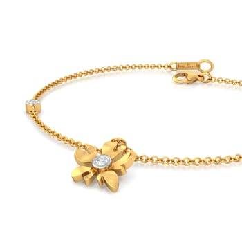 Gold Jessamine Diamond Bracelets