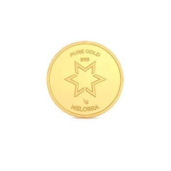 1 g 24 kt Gold Coin Gold Coins