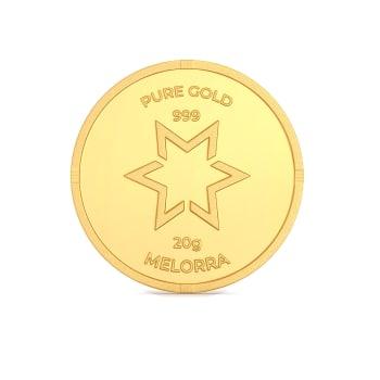 20 g 24 kt Gold Coin Gold Coins