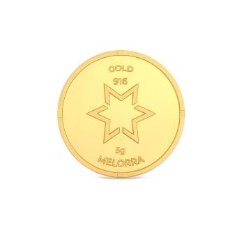 5 g 22 kt Gold Coin Gold Coins