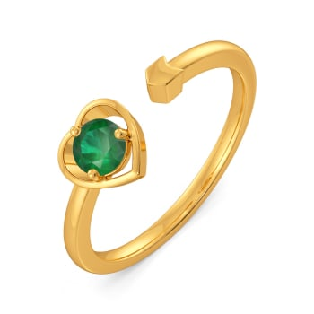 Jade of my Heart Gemstone Rings
