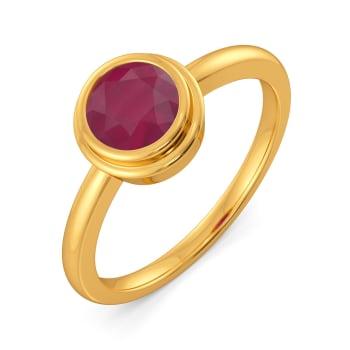 Red to Rad Gemstone Rings