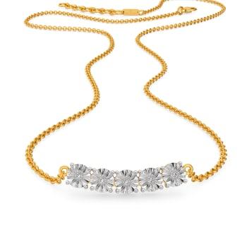 Twinkle Orbs Diamond Necklaces