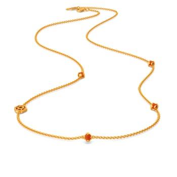 Calming Corals Gemstone Necklaces