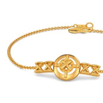 Stitch in Time Gold Bracelets