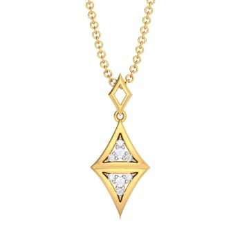 Doppelganger  Diamond Pendants