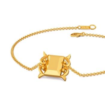 Victorian Swirls Gold Bracelets