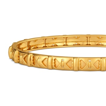 Woven Victorian Gold Bangles