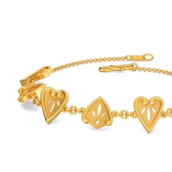 Lace Lacuna Gold Bracelets