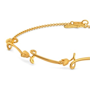 Twirl Vines Gold Bracelets