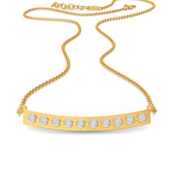 Hoop Loops Diamond Necklaces