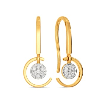 C Quins Diamond Earrings