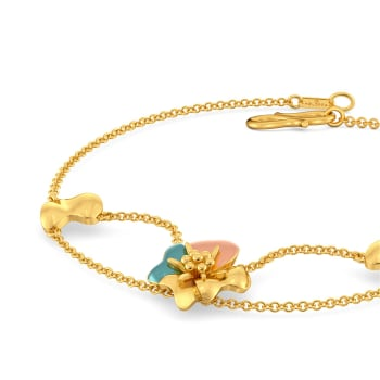 Chaplet Gold Bracelets