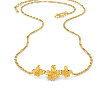 The Periwinkle Trio Gold Necklaces