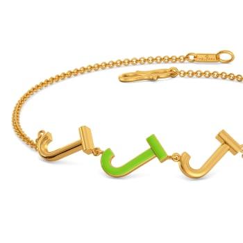 Just in Jade Gold Bracelets