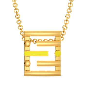 Ideally Lit Gold Pendants