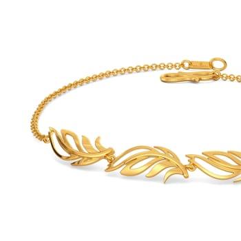 Feels Like Feather Gold Bracelets
