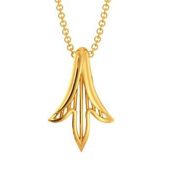 Like A Lily Gold Pendants
