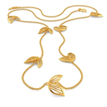Petal Play Gold Necklaces