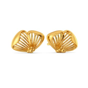 Flower Afar Gold Earrings