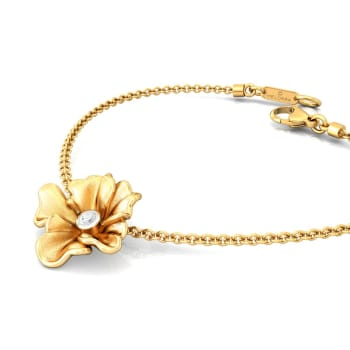 Yellow Carnation Diamond Bracelets