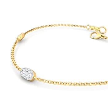 Bean gleam Diamond Bracelets